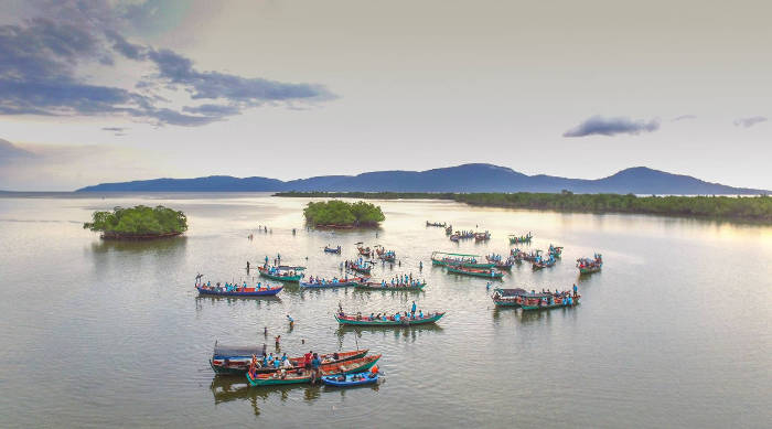 a view of the Lovers' Island, Mangrove Festival