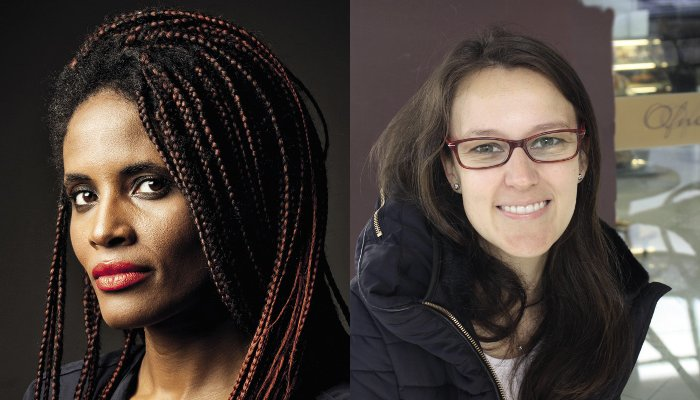 Brazil women's rights: Djamila Ribeiro (left), one of the few black women to have entered the white, male-dominated sphere of academic philosophy. Esther Solano (right) who teaches sociology in Sao Paulo, sees a marked change since the coup.