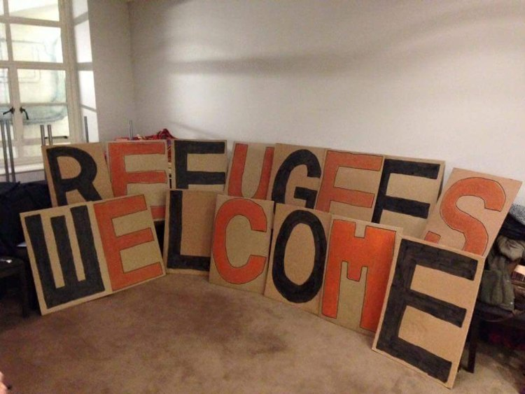 Refugees welcome. Sanctuary scholarships