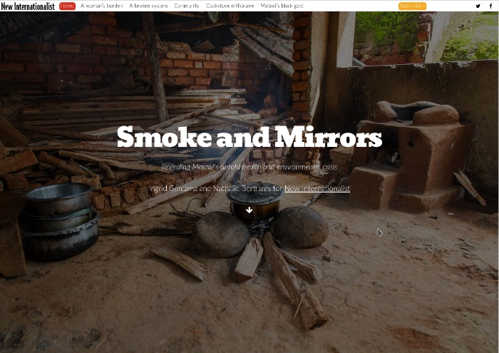 Smoke and Mirrors: an immersive multimedia project about Malawi's health crisis.