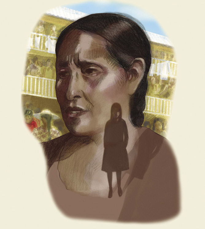Bolivian prisons. Illustration: Sarah John