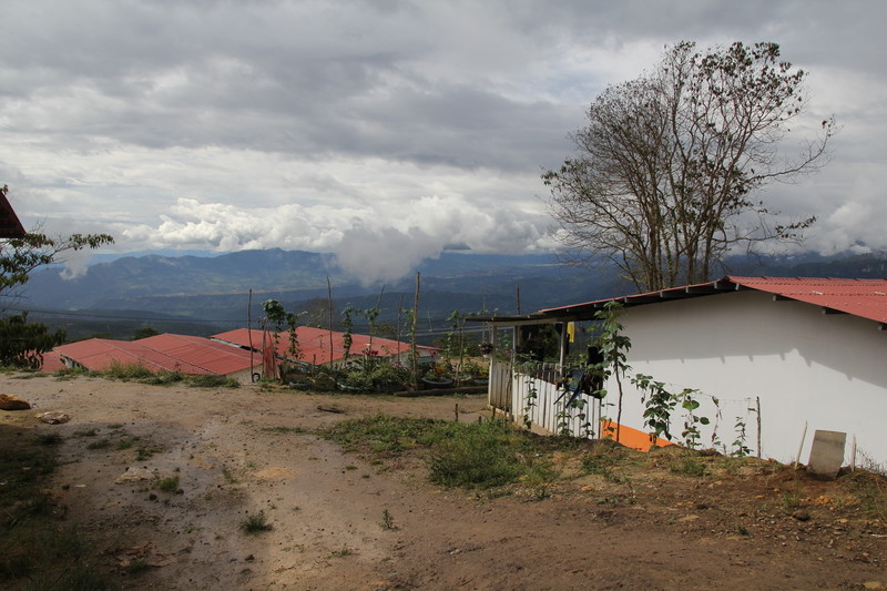 FARC guerillas are worried for their future after the right-wing Duque was elected president. Photo: A view of the FARC reintegration zone outside of the town of Icononzo, Tolima, where approximately 200 former guerrillas live.