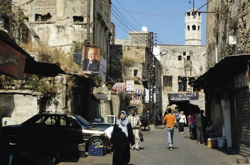The historic market in the northern town of Tripoli. Photo: Mark Pearson / Alamy